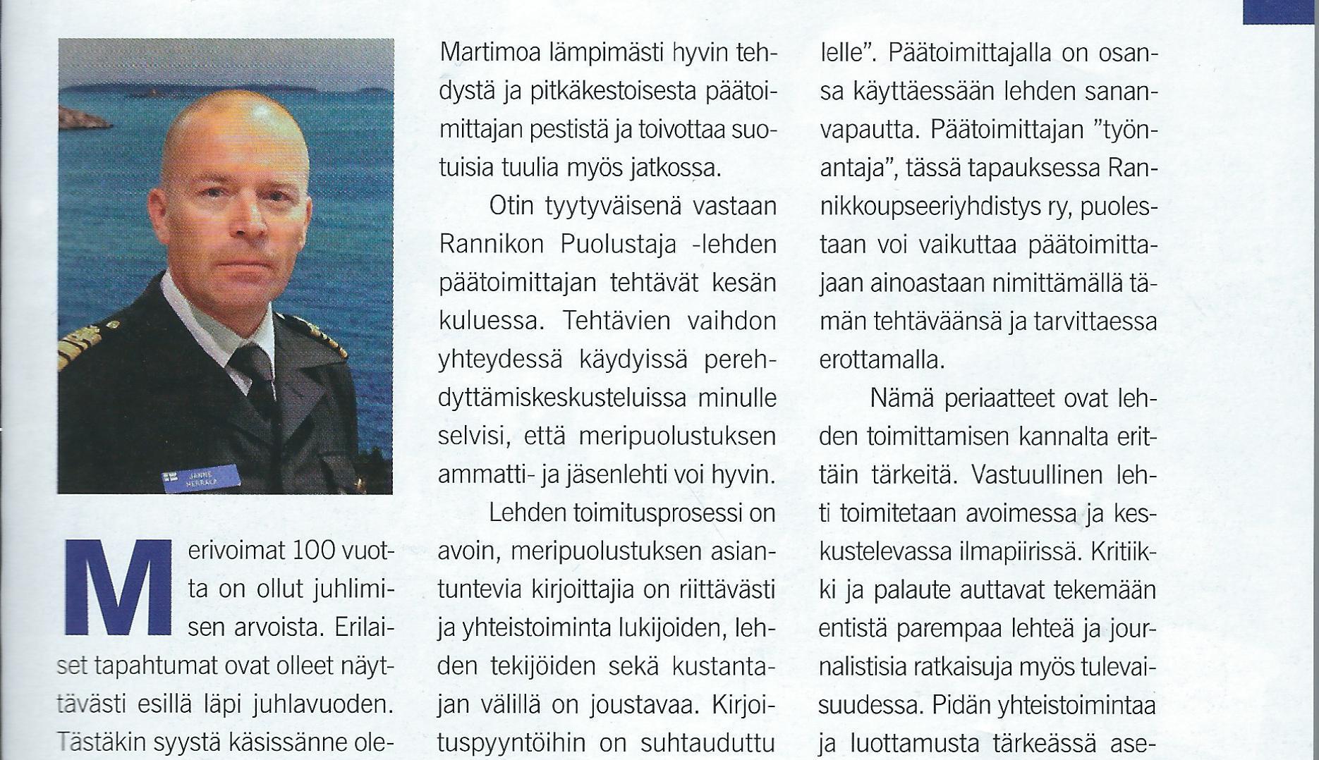 Janne Herrala RP-lehden päätoimittajaksi